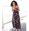 Floral Print Maxi Dress