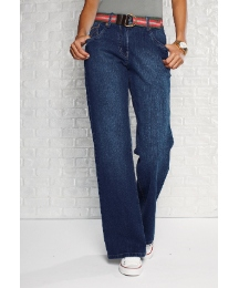 Boyfriend Jeans With Belt Length 33in