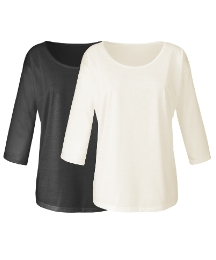 Pack of 2 Drop Shoulder Tops