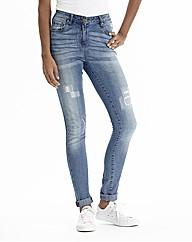 Mended Skinny Jeans