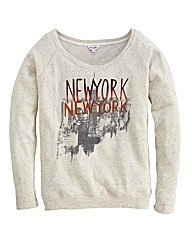 Urban Print Neppy Sweat Top