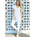 Stripe Jersey Tunic and Leggings