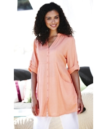 Linen Boyfriend Shirt