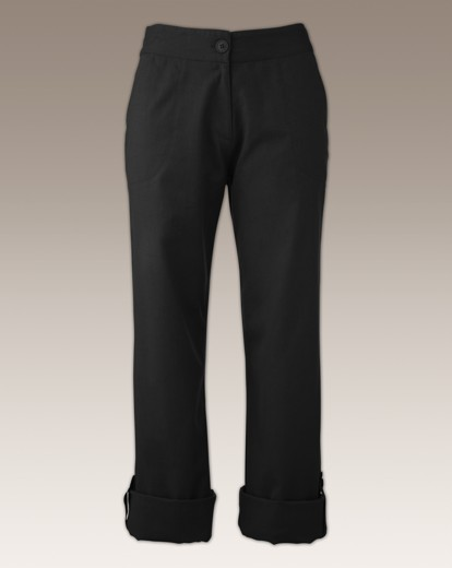Roll Up Linen Trousers Length 30in