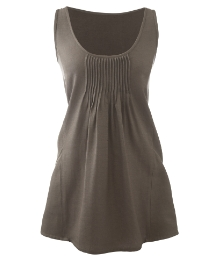 Plain Linen Mix Camisole