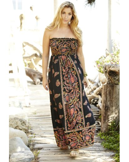 Tall Print Maxi Dress | Simply Be