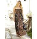Boho Print Maxi Dress