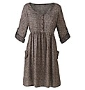 Woven Skater Tunic Dress