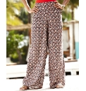 Print Palazzo Trousers