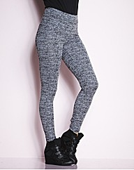 High Waisted Snake Print Leggings