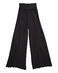 Super Wide Leg Jersey Trousers