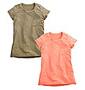 Pack of 2 Boyfriend T Shirts