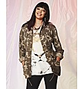 Military Print Jacket