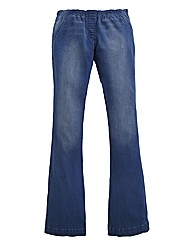 Pull On Flared Jeggings Length 31in