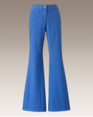 Kick Flare Coloured Jeans Length 31in