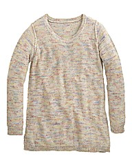 Multicoloured Speckled Jumper