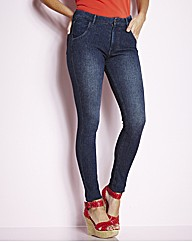 Jersey Skinny Jeans Length 29in
