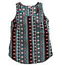 Aztec Print Woven Vest