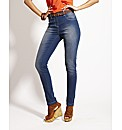 Pull On Skinny Jeggings Length 27in