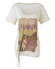Graphic Stone Print T-Shirt