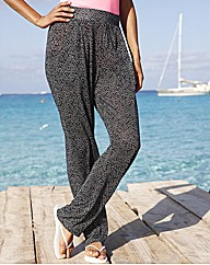 Jersey Harem Pants
