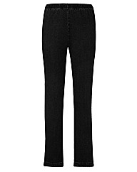 Pull On Slim Leg Jeggings Length 25in