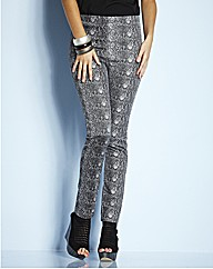 Snake Print Jeggings