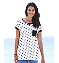 Pack Of 2 Boyfriend T-Shirts - Spot