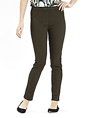 Pull On Slim Leg Jeggings Length 31in