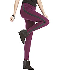 PU Trim Leggings