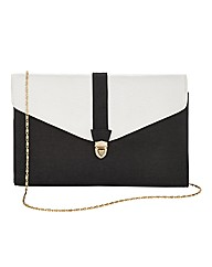 Joanna Hope Colour Block Clutch Bag