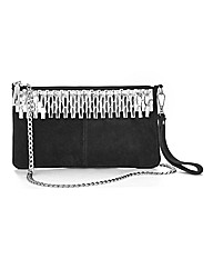 Joanna Hope Jewel Detail Clutch Bag