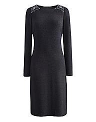 Joanna Hope Glitter Jersey Dress