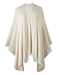 Joanna Hope Diamante Knitted Cape