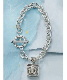 Trinity of Angels Prayer Box Bracelet