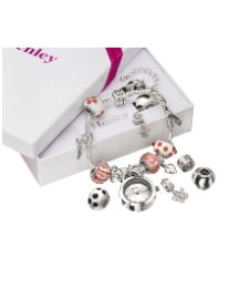 Interchangeable Charm Bracelet Watch