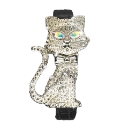 Glitzy Feline Watch