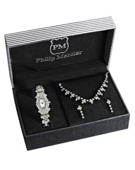Sparkly Ladies Watch & Jewellery Set