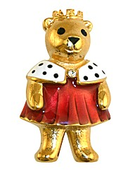 Princess Teddy Brooch