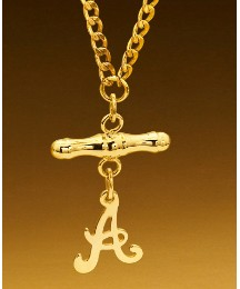 9ct T-Bar Initial Necklace
