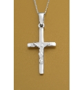 Small Sterling Silver Crucifix