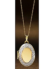 9 Carat Gold Locket Pendant