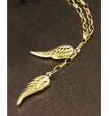9 Carat Gold Angel Wings Pendant