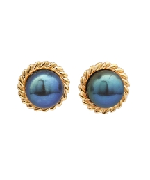 9 Carat Gold Pearl Earrings