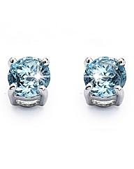 9 Carat Gold Gemstone Stud Earrings