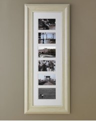 Wood Effect Multi Aperture Photo Frame