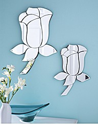 Rose Shaped Mirror