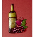 Vineyard Metal Wall Art