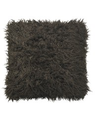 Mongolian Faux Flokati Cushion