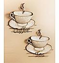 Tea And Coffee Metal Wall Art
